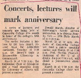 Concerts, lectures will mark anniversary
