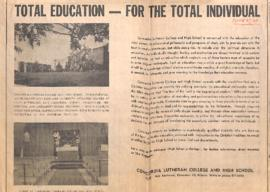 Total education - For the total individual