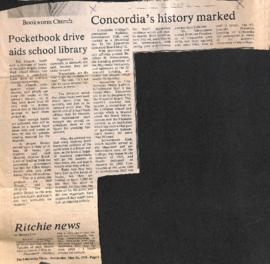 Concordia's history marked