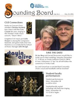 Sounding Board Volume 11/Issue 03