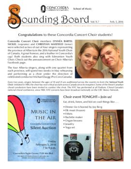 Sounding Board Volume 10/Issue 07