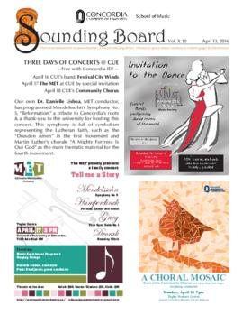 Sounding Board Volume 10/Issue 10