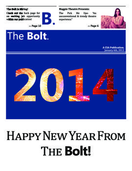 The Bolt 2013-2014/Jan. 6