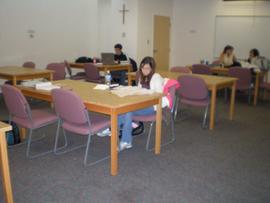 Basement study room