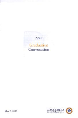 22nd Graduation Convocation