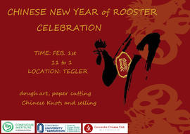 Chinese New Year of Rooster Celebration