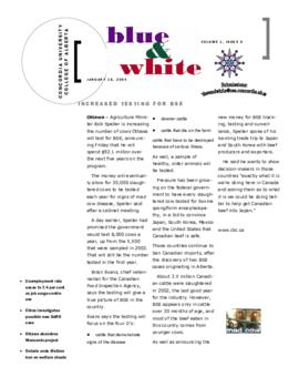 Blue & White 2003-2004/Issue 06