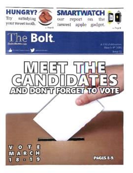 The Bolt 2014-2015/Issue 12