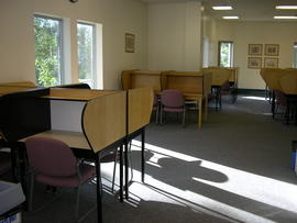 2nd floor study desks