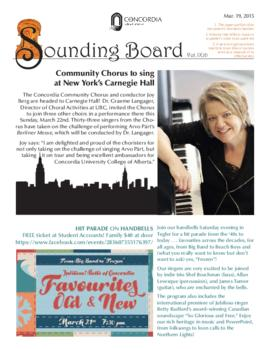 Sounding Board Volume 09/Issue 10