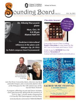 Sounding Board Volume 10/Issue 01