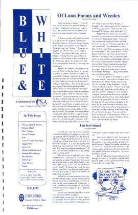 Blue & White 1998-1999/Issue 01