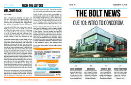 The Bolt 2018-2019/Issue 01
