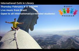 International Cafe in Library