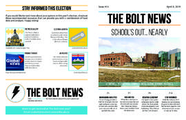 The Bolt 2018-2019/Issue 14