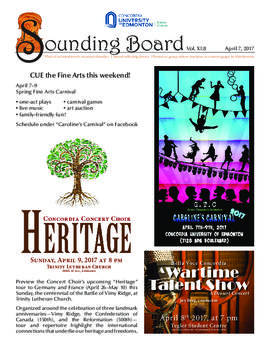 Sounding Board Volume 11/Issue 08