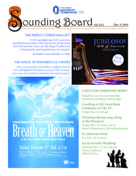 Sounding Board Volume 11/Issue 05
