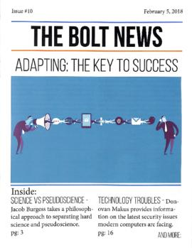 The Bolt 2017-2018/Issue 10