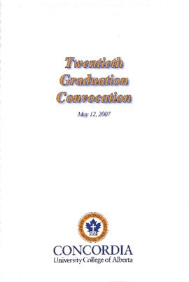 Twentieth Graduation Convocation