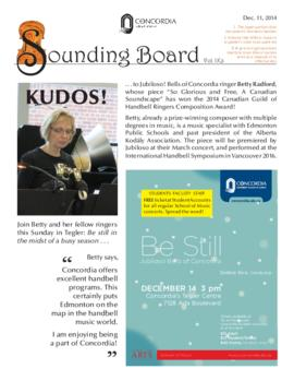 Sounding Board Volume 09/Issue 03
