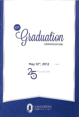 25th Graduation Convocation