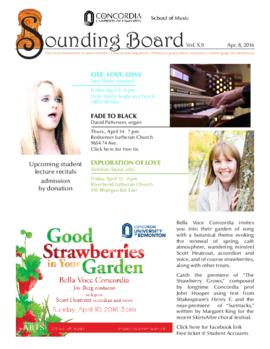 Sounding Board Volume 10/Issue 09