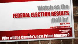 Watch as the Federal Election results roll in!