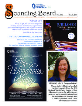 Sounding Board Volume 12/Issue 03
