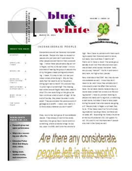 Blue & White 2003-2004/Issue 10