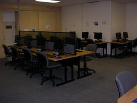 Main floor computer lab