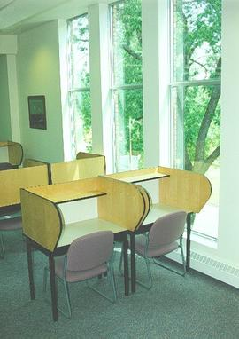 2nd floor study area