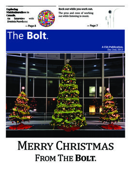 The Bolt 2013-2014/Dec. 2
