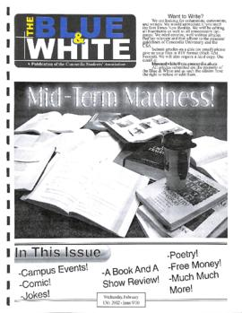 Blue & White 2001-2002/Issue 9-10