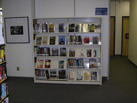 Book display shelving
